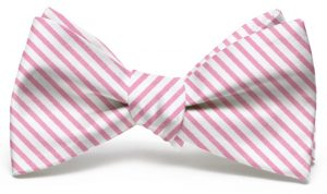 Signature Stripe: Bow - Pink