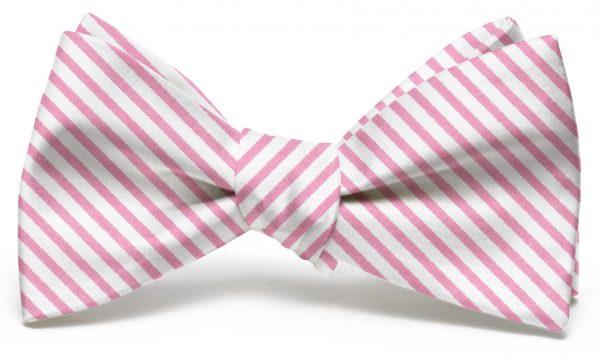 Signature Stripe: Bow - Pink