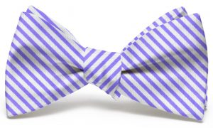Signature Stripe: Bow - Purple