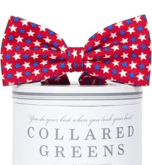 Freedom Stars: Boys Bow Tie - Red