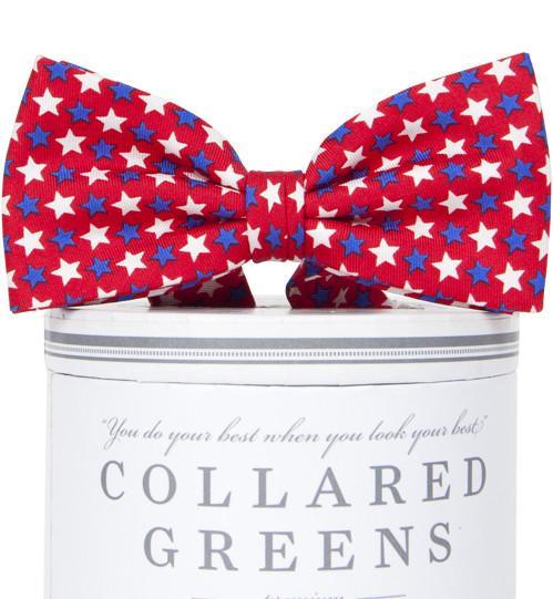 Freedom Stars: Boys Bow Tie - Red