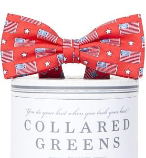 Old Glory: Boys Bow Tie - Salmon