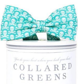 Walk the Plank: Boys Bow Tie - Aqua