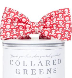 Walk the Plank: Boys Bow Tie - Salmon