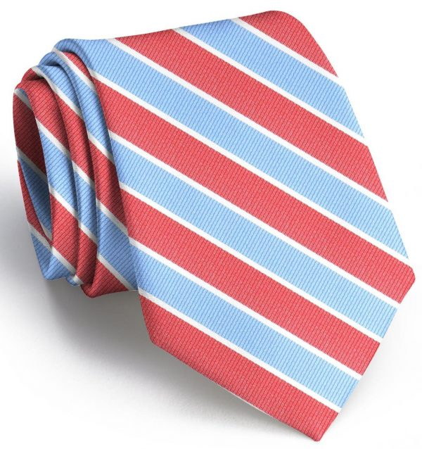 Charles: Tie - Red/Carolina