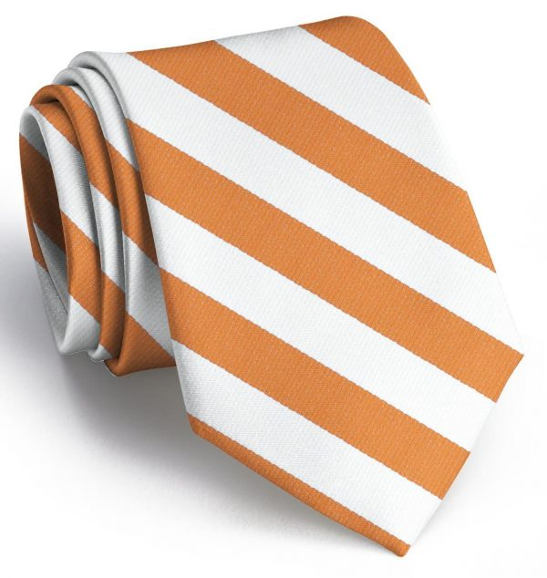 Davis: Tie - Orange/White
