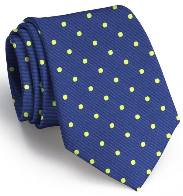 Dots: Extra Long - Blue/Lime
