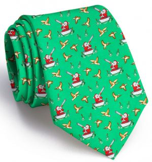 Crack Shot Kringle: Tie - Green