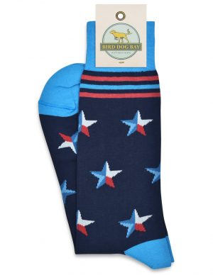 Stars Over Texas: Socks - Navy