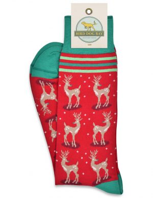Rudolph Mixer: Socks - Red