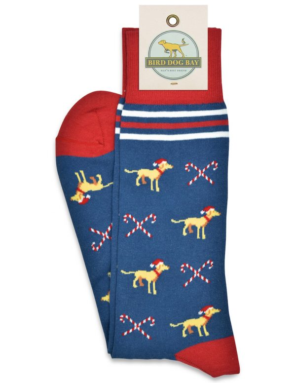 Candy Canines: Socks - Blue