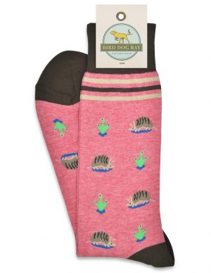 Armadillo Crossing: Socks - Dusty Pink