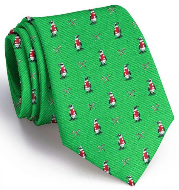 North Pole Parade Club Tie: Tie - Green