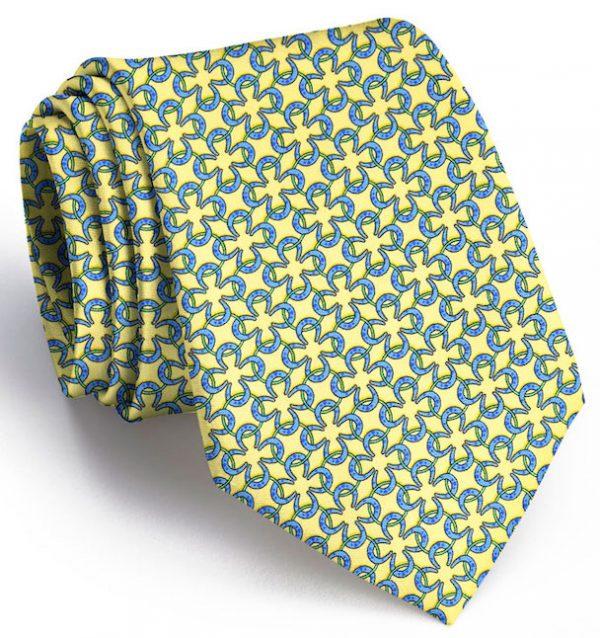 Horseshoe Rings: Tie - Yellow