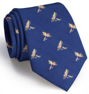 Royal Wulff Club Tie: Extra Long - Navy