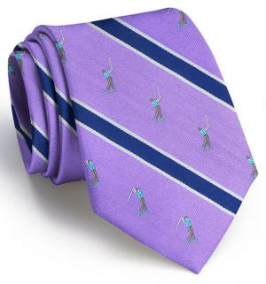 Big Swing Club Tie: Extra Long - Purple