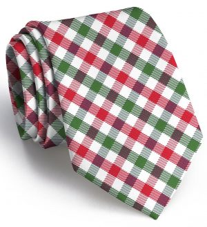 Christmas Quad: Tie - Red/Green