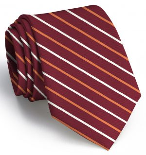 Lewis: Extra Long - Maroon/Orange