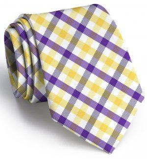 Collegiate Quad: Extra Long - Purple/Yellow
