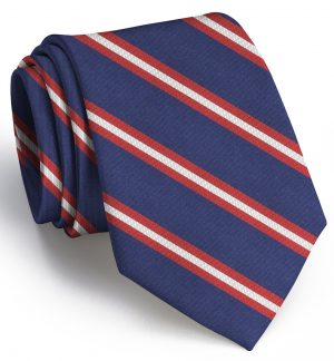 Berkshire: Tie - Navy/Red