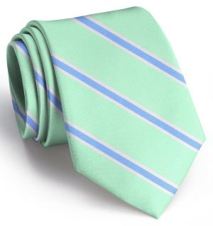 James: Tie - Mint/Blue