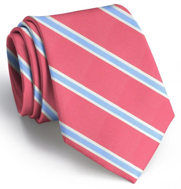 James: Tie - Red/Blue