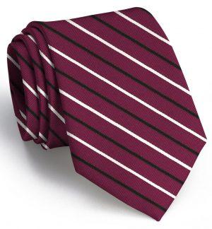 Lewis: Tie - Garnet/Black