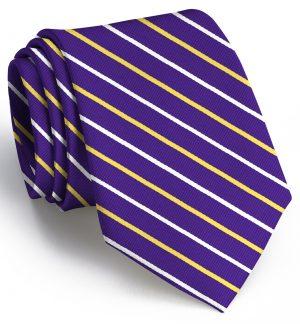 Lewis: Tie - Purple/Yellow