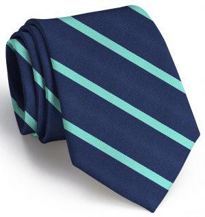 Stowe: Tie - Navy/Green