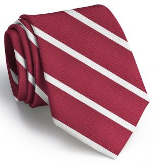Stowe: Tie - Red/White