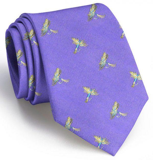 Royal Wulff Club Tie: Boys - Purple