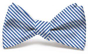 Signature Stripe: Bow - Navy