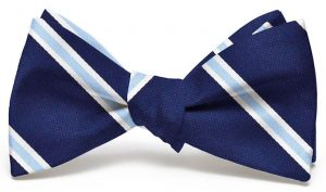 James: Bow - Navy/Blue