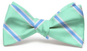 James: Bow - Mint/Blue