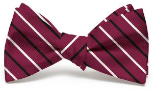 Lewis: Bow - Garnet/Black
