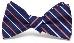Lewis: Bow - Navy/Orange