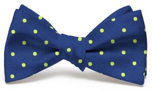 Spot On: Bow - Navy/Lime