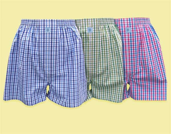Sittin' Shotgun: Boxers - Green/Navy