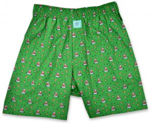 Crack Shot Kringle: Boxers - Green