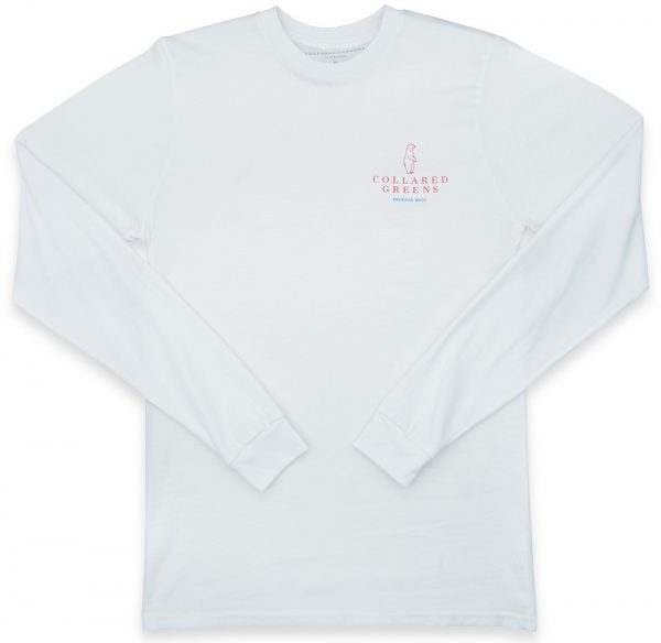 Flying Squirrel: Long Sleeve T-Shirt - White