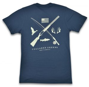 Field & Stream: Short Sleeve T-Shirt - Steel Blue