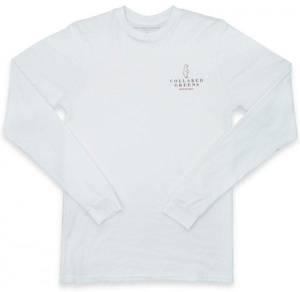Grateful Bear: Long Sleeve T-Shirt - White