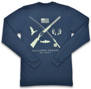 Field & Stream: Long Sleeve T-Shirt - Steel Blue