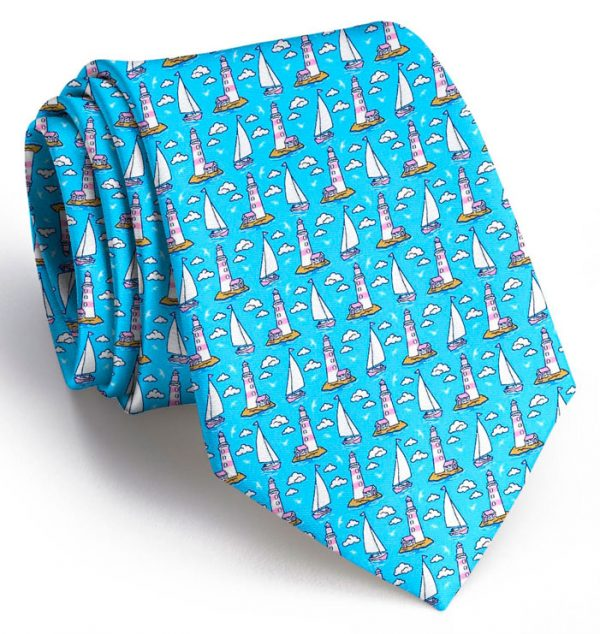 Welcome Ashore: Tie - Turquoise