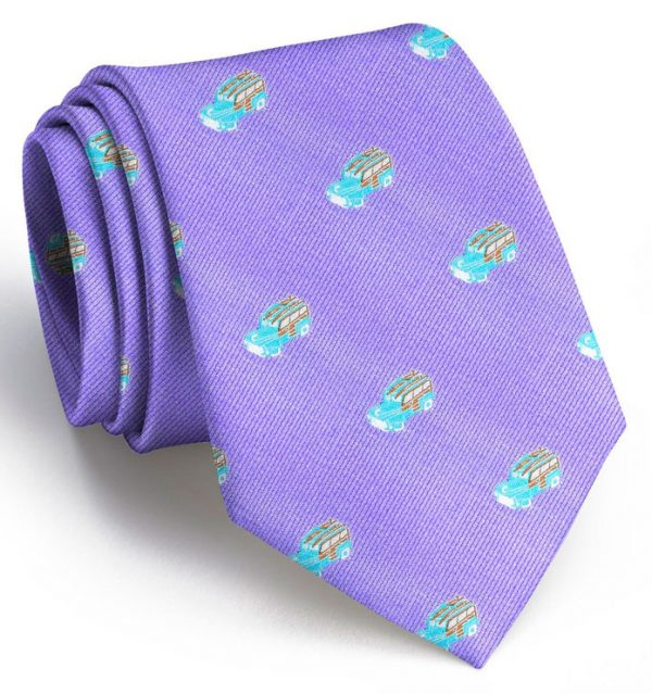 Woody: Tie - Violet
