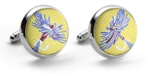 Royal Wulff: Cufflinks - Yellow