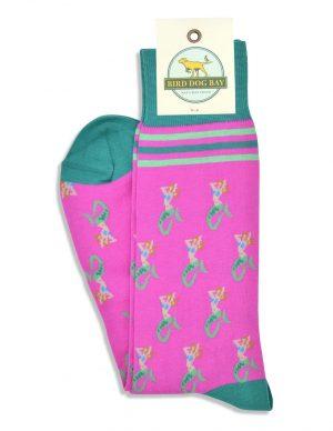 Mermaid Heaven: Socks - Fuchsia