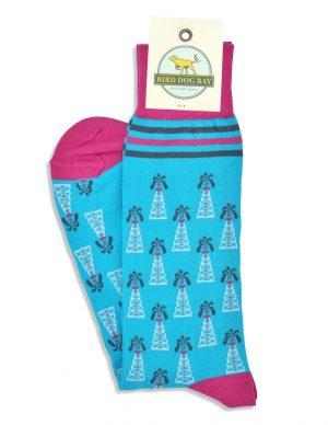 Roughnecks: Socks - Turquoise