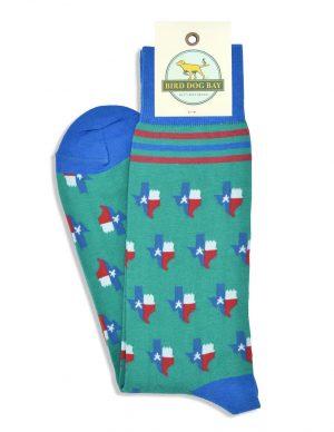Texas Pride: Socks - Green