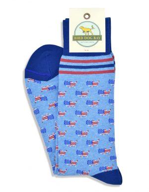 American Pride: Socks - Blue
